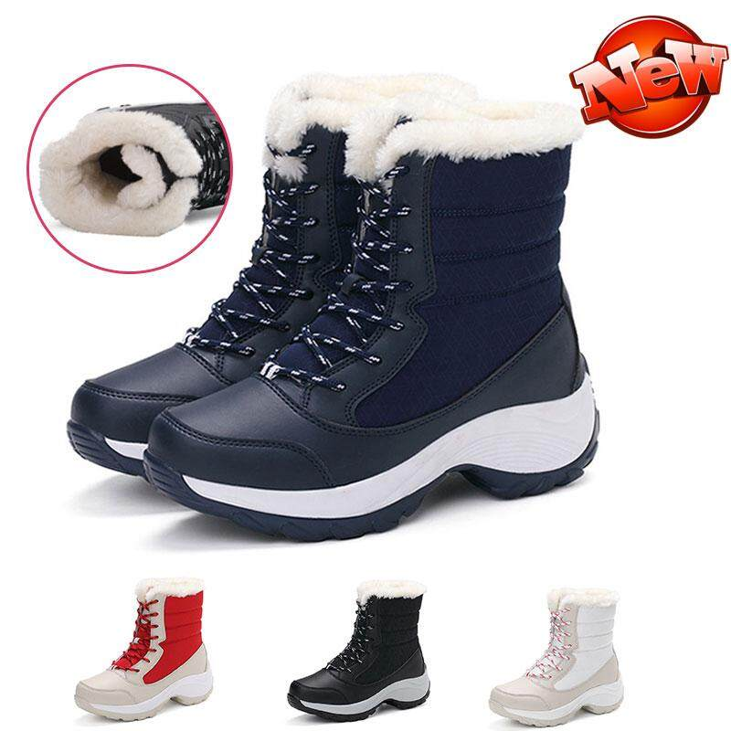66b2ab98118 STF Fashion Women Winter Boots for women Snow boots of Korean Edition  Waterproof female tide cashmere