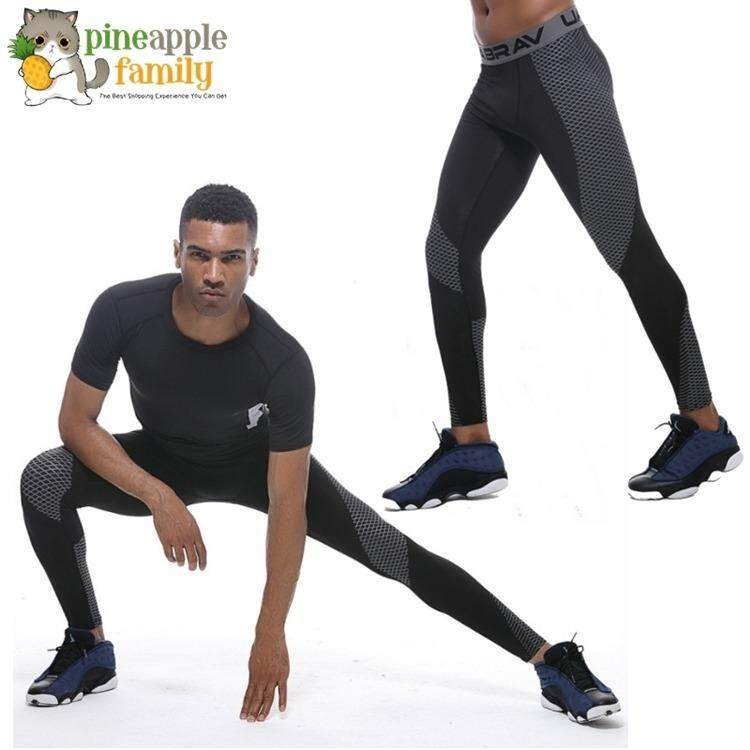 14b5b068963ed Alejandro Men Compression Pants Gym Fitness Sports Running Leggings Tights  Quick-drying Fit Training Jogging
