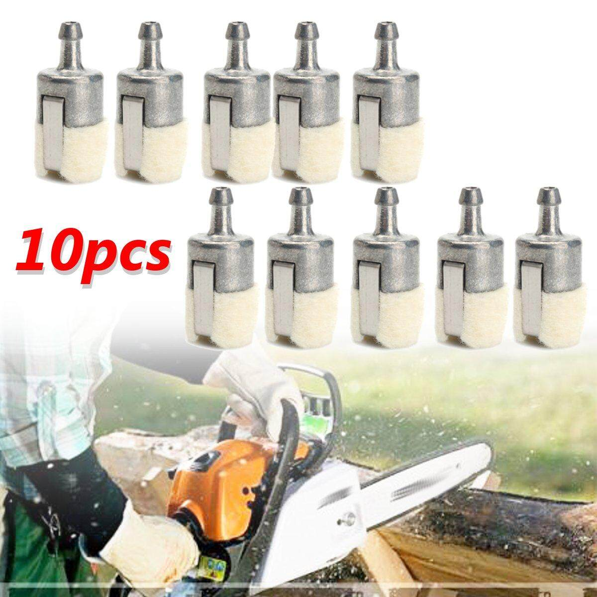 10Pc Gas Fuel Filter Pickup for Homelite Echo Husqvarna Stihl Pouland Chainsaws