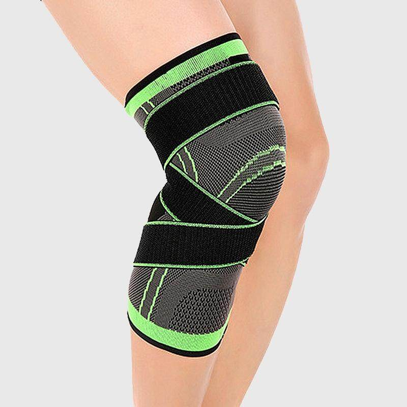 3d Weaving Pressurization Knee Brace Hiking Cycling Knee Support Protector Knee Pad Xl By Happyang.
