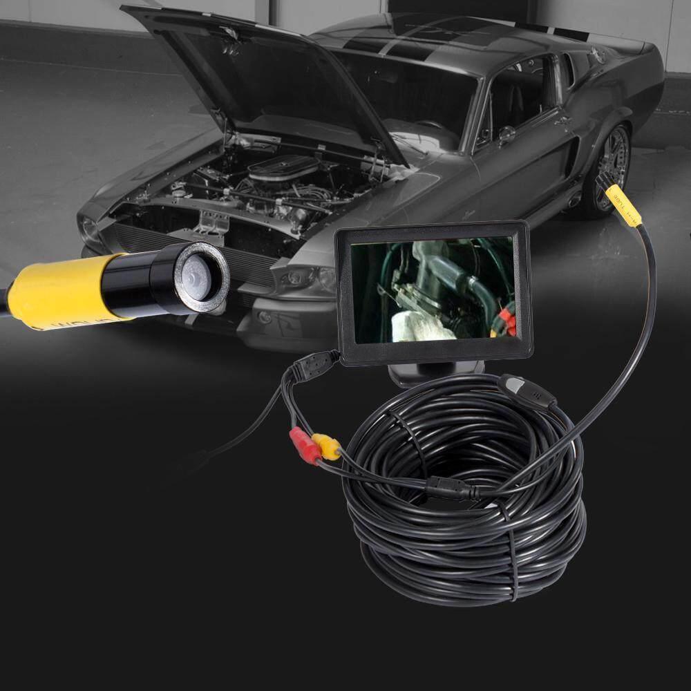 Womdee 20m Kobwa Industrial Video Endoscope 20meters, 4.3 Inch Tft-Lcd Color Lcd Montior 5v Mini Av Borescope Inspection Snake Cmaera With 10mm Diameter Waterproof Probe Cmos Camera By Womdee.