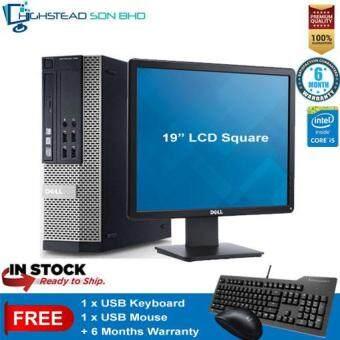 Dell 790 Ci5-2400 3.1GHz 4GB 320GB + 19 Inch LCD Square Refurbished