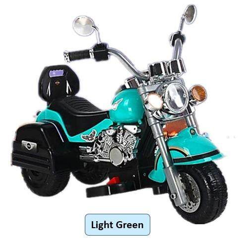 Luxury Harley Electric Kids Ride On Motorcycle Scooter By Toys & Tots.
