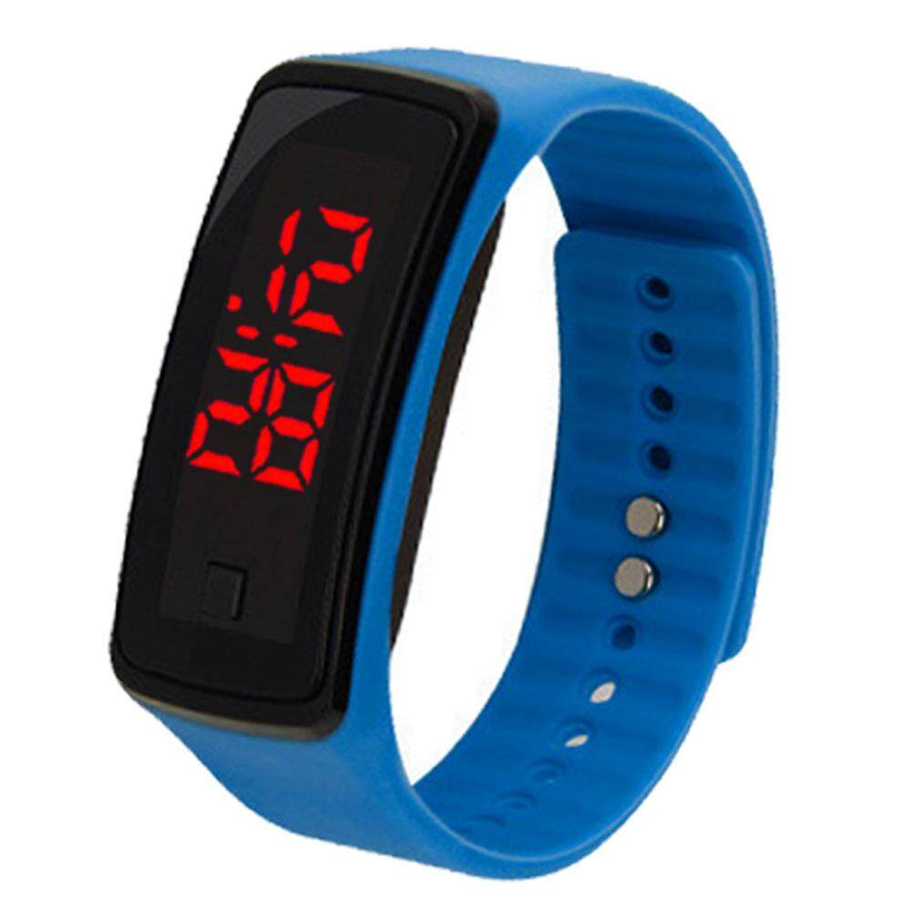 W-Toy Simple Kids Silicone Electric Watch LED Digital Wrist Watch Ornament Gift Malaysia
