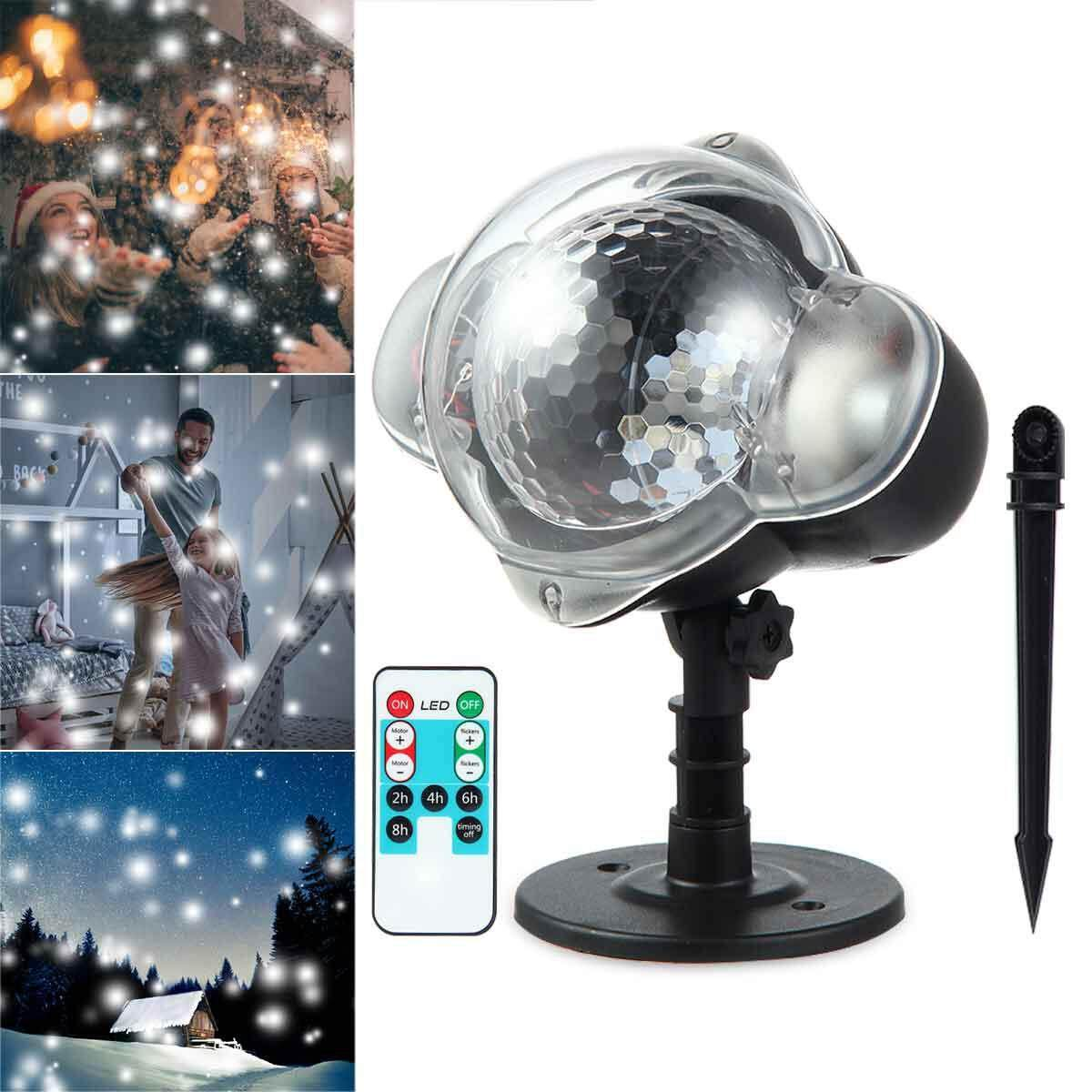Buy House Lighting Online At Best Price In Malaysia Lazada Wiring Lampu Kalimantang Umiwe Led Projector Lights Snowflake Lamp With Wireless Remote Indoor Outdoor Waterproof Snow Falling Landscape