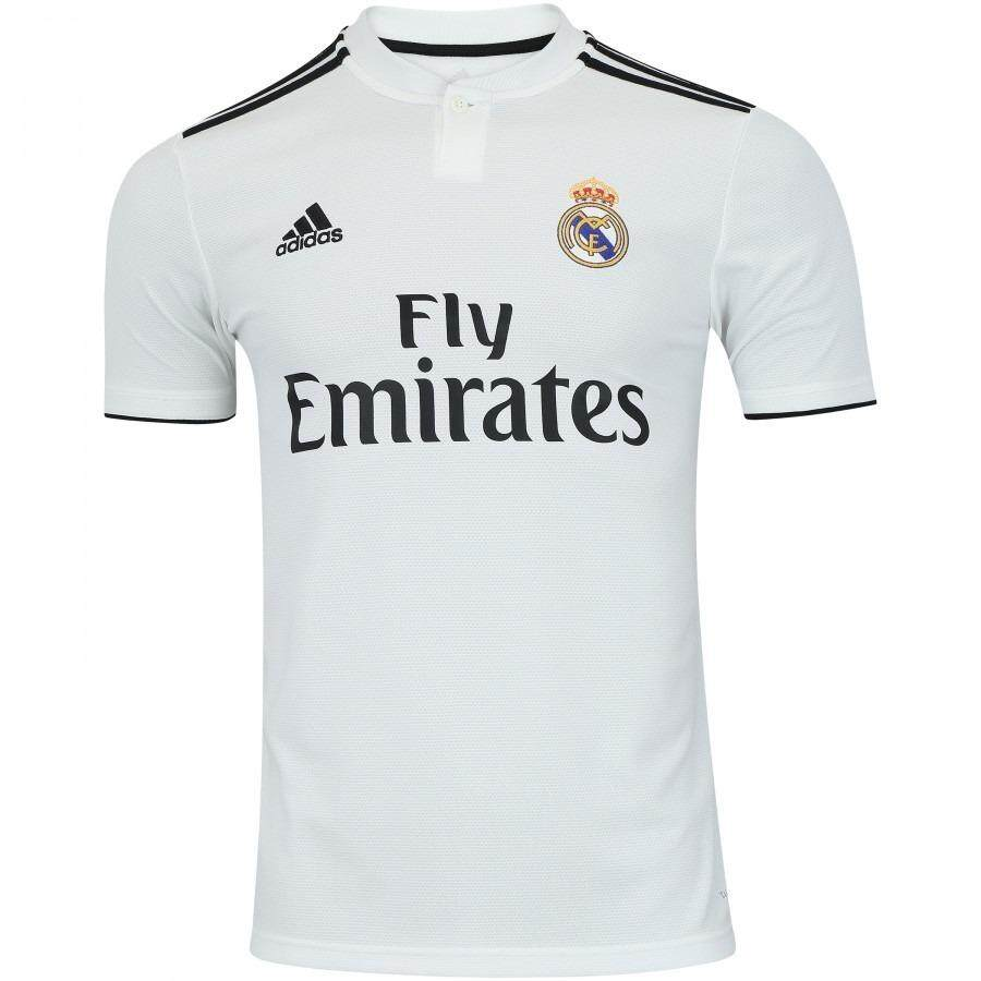 ff6d3a9242d ... ebay real madrid football jersey rm jersey home kit 2018 2019 jersey  real madrid jersey for