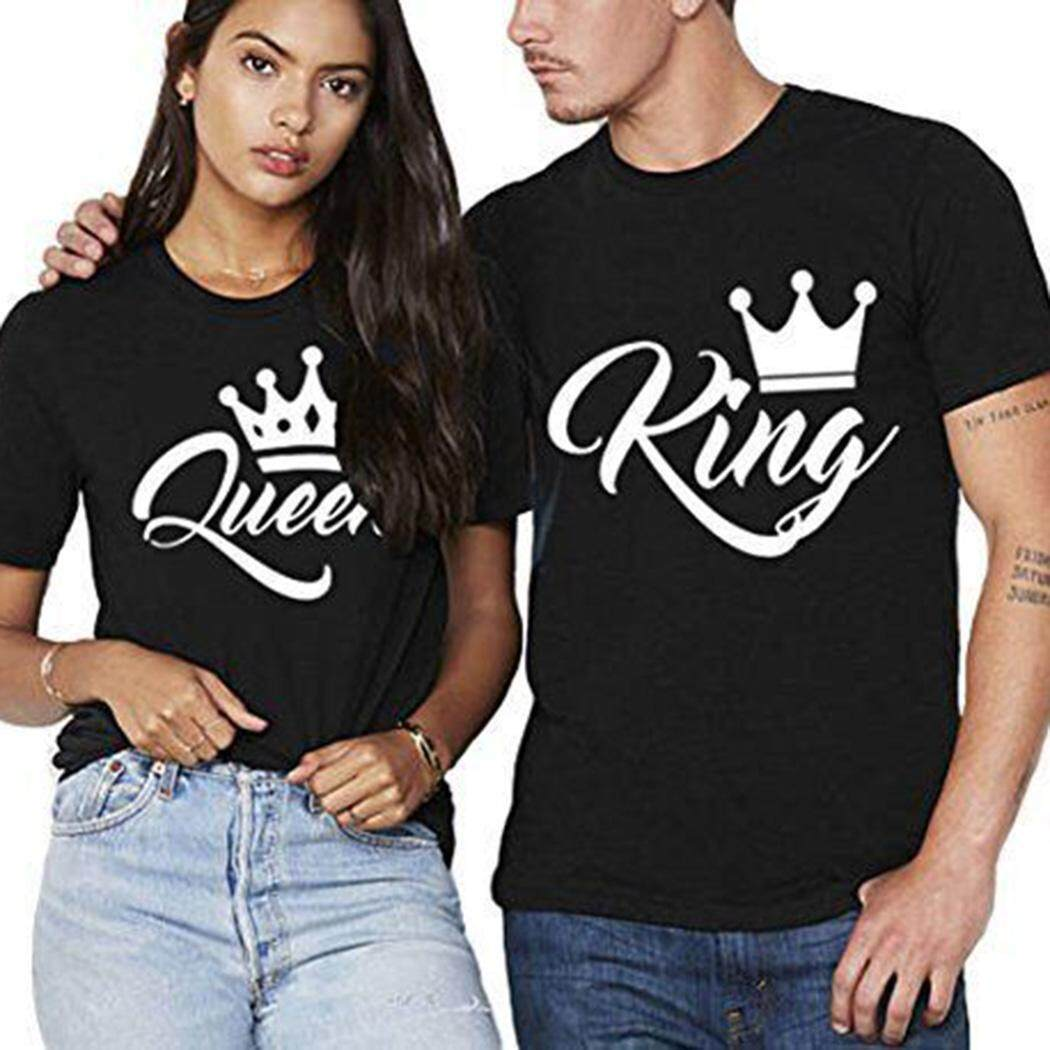 Popular T Shirts For Men The Best Prices In Malaysia Tendencies Tshirt Rolling Skate Hitam S High Quality Sunwonder O Neck Short Sleeve King Letter Crown Print Casual Couple