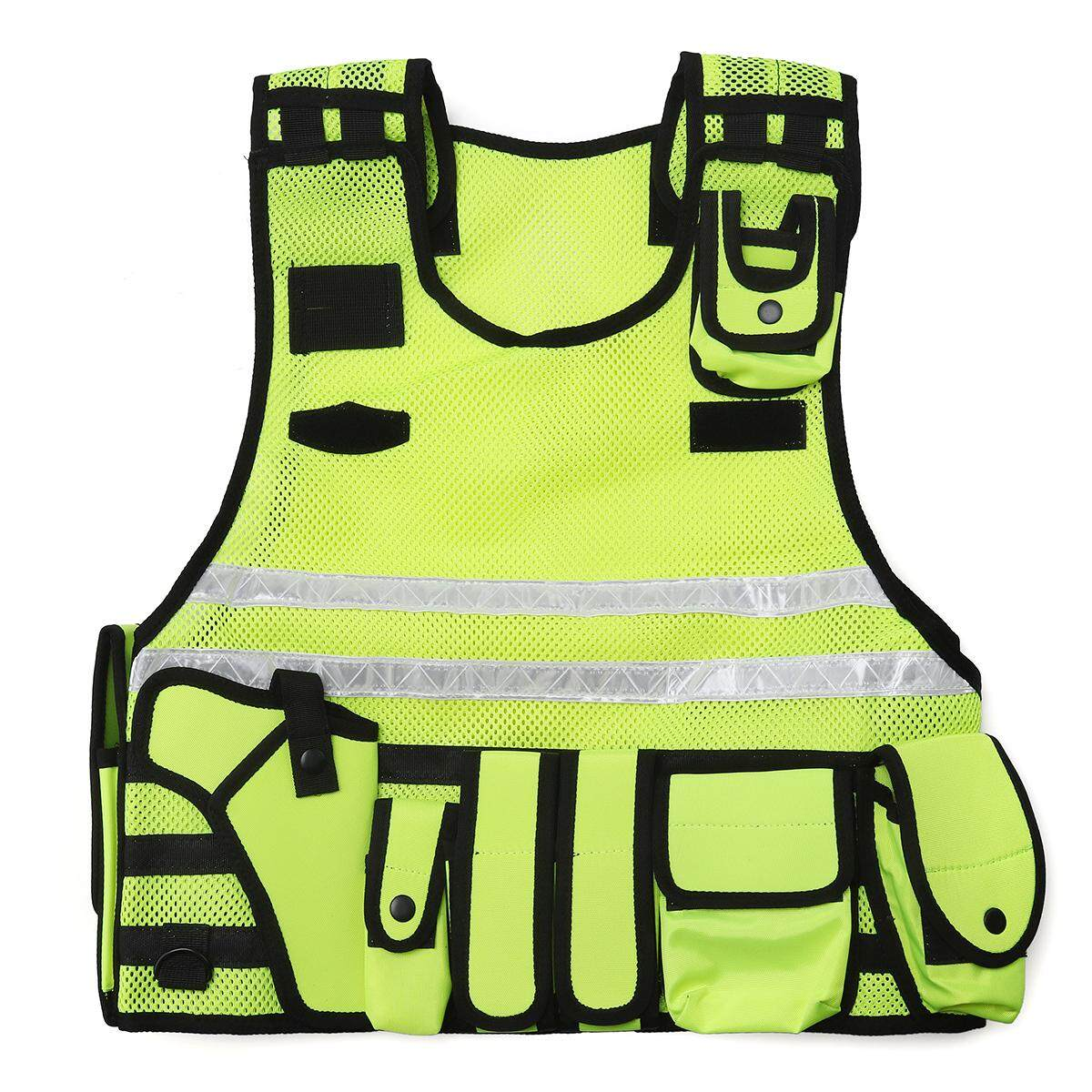 Tactic Vest Tactic Security Reflective Duty Patrol Dog Handler HI VIZ SIA CCTV