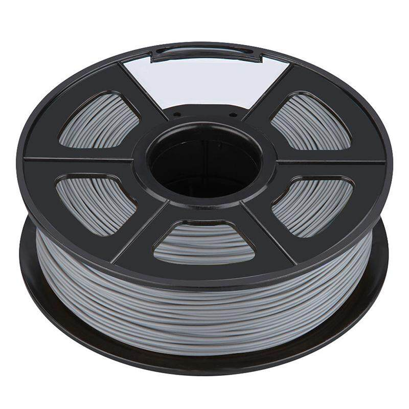 Professional Filament 3D Printing Materials Spool of 3D Filament ABS 1Kg With NO Air Bubbles for RepRap MakerBot Ultimaker etc (3.00mm, Silver)