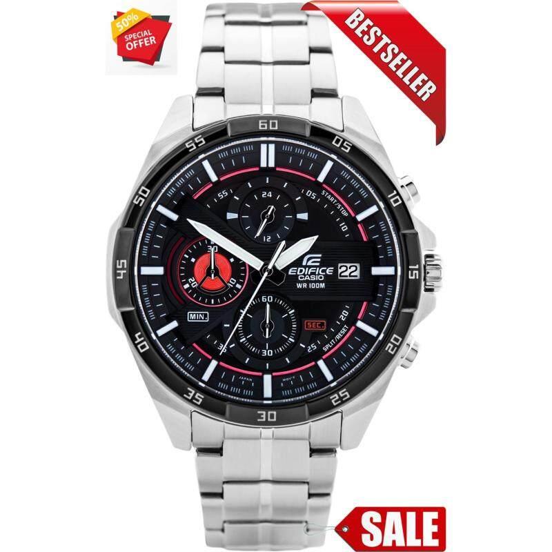 Special Promotion Casio Edifice EFR-556 Black Dial Men Watch Malaysia