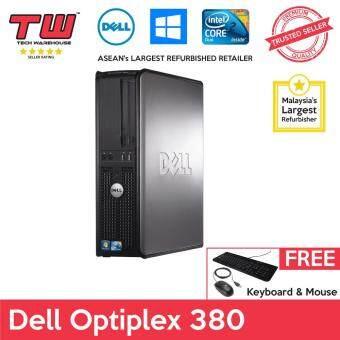 Dell Optiplex 380 C2D E7500 / 2GB RAM / 160 GB HDD / Windows 7 Desktop PC / 3 Month Warranty (Factory Refurbished)  (SPECIAL OFFER)