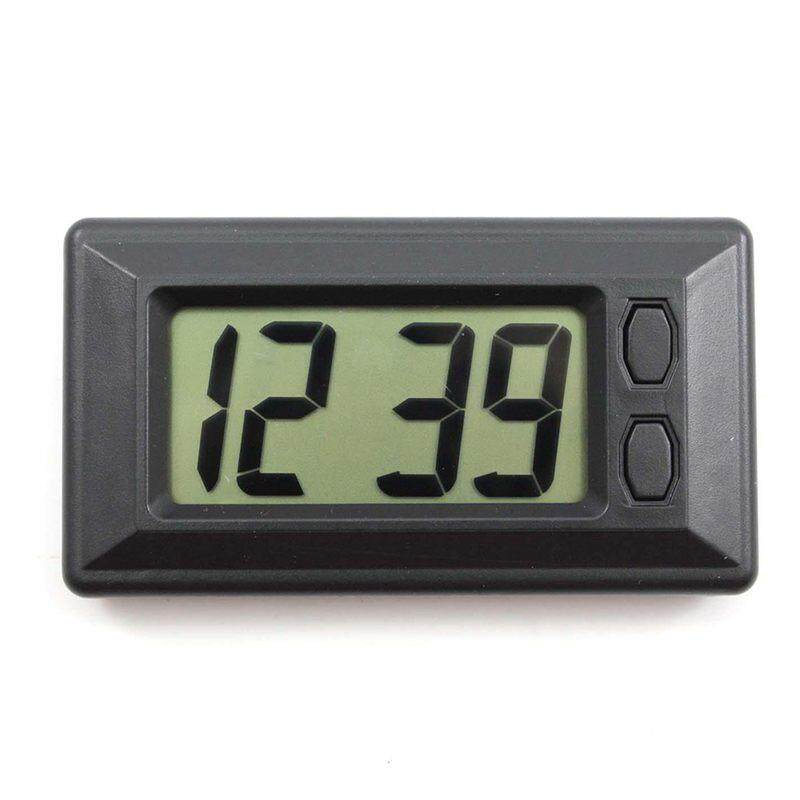 Ultra-Thin Lcd Digital Display Vehicle Car Dashboard Clock With Calendar Cool By Fastour.