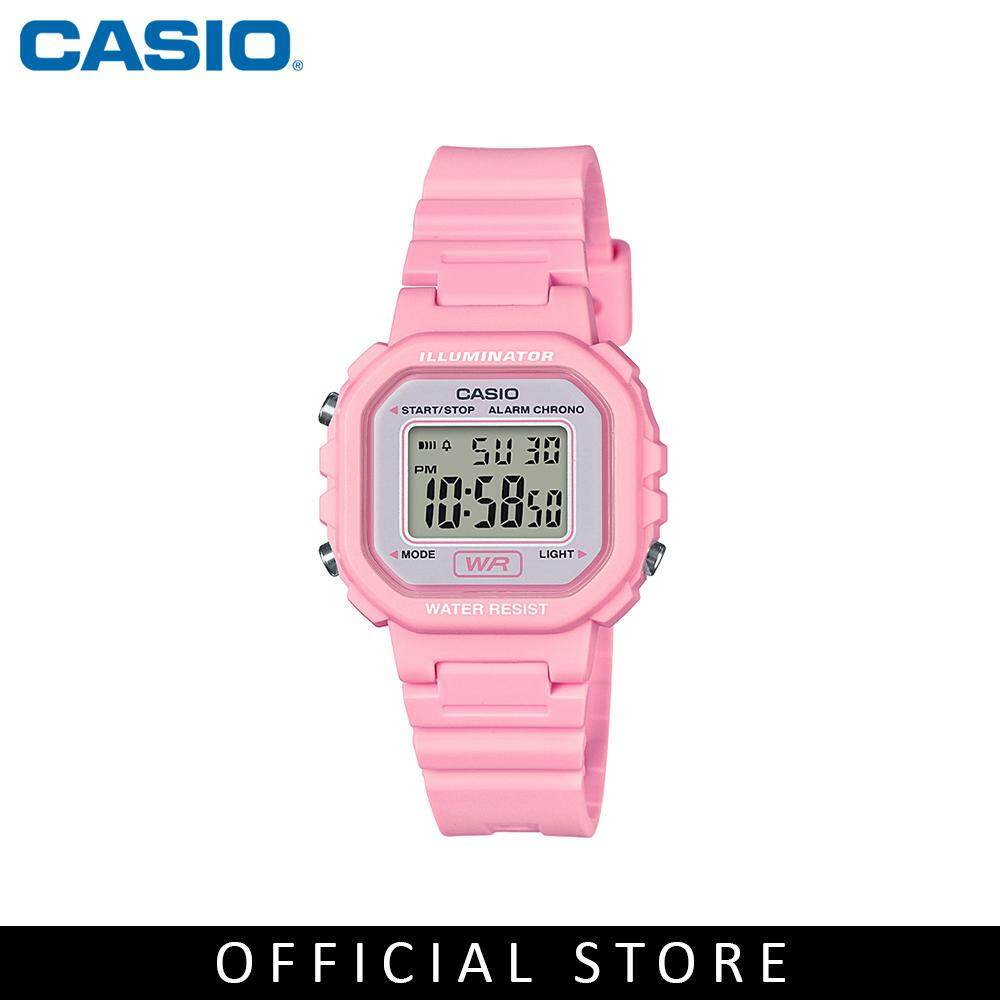 Casio General LA-20WH-4A1 Youth Digital Pink Resin Band Women Watch Malaysia