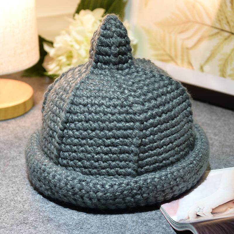 42839a568bb 2018 Children s Wool Cap Autumn and Winter Lovely Baby Girl Hand Knitted  Knitted Hat Hat New