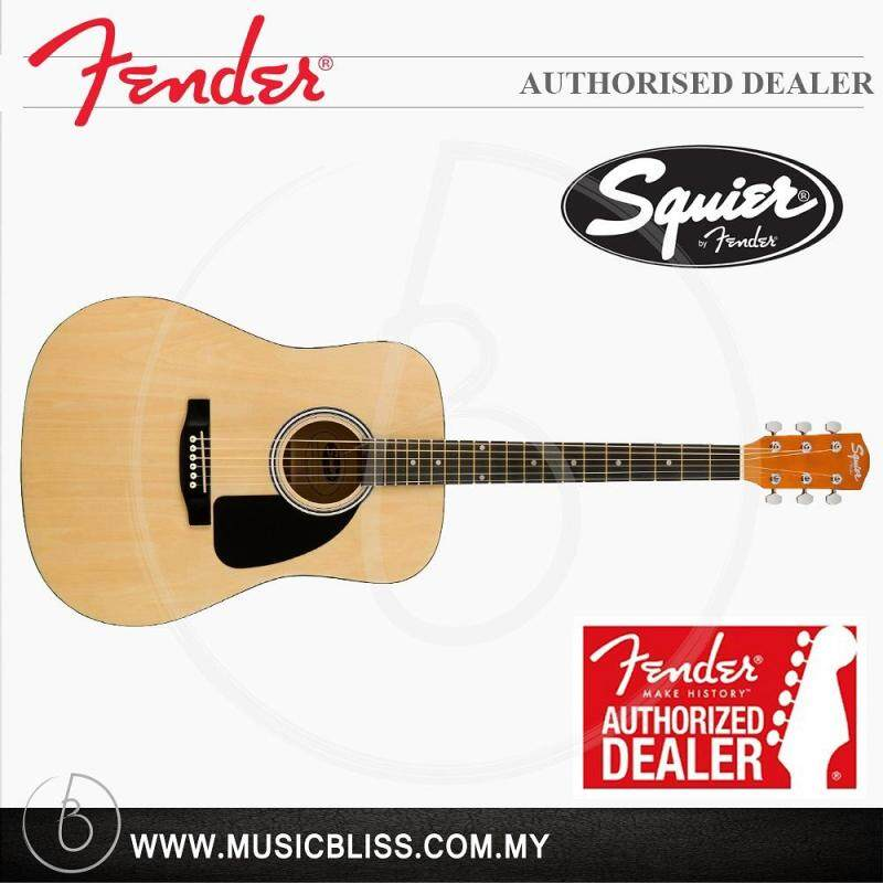 Fender Squier SA-150 Dreadnought Acoustic Guitar (Natural) Malaysia