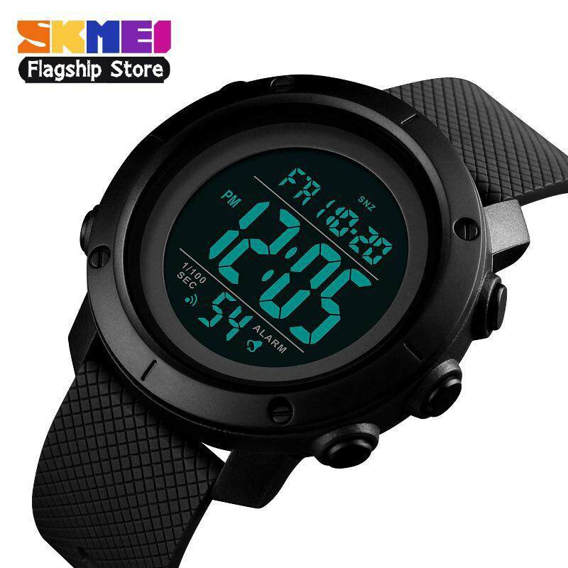 Watches Skmei Smart Watch Mens Multi-function Led Display Compass Thermometer Alarm Clock Date Waterproof Digital Sports Electronic W Fine Quality Men's Watches