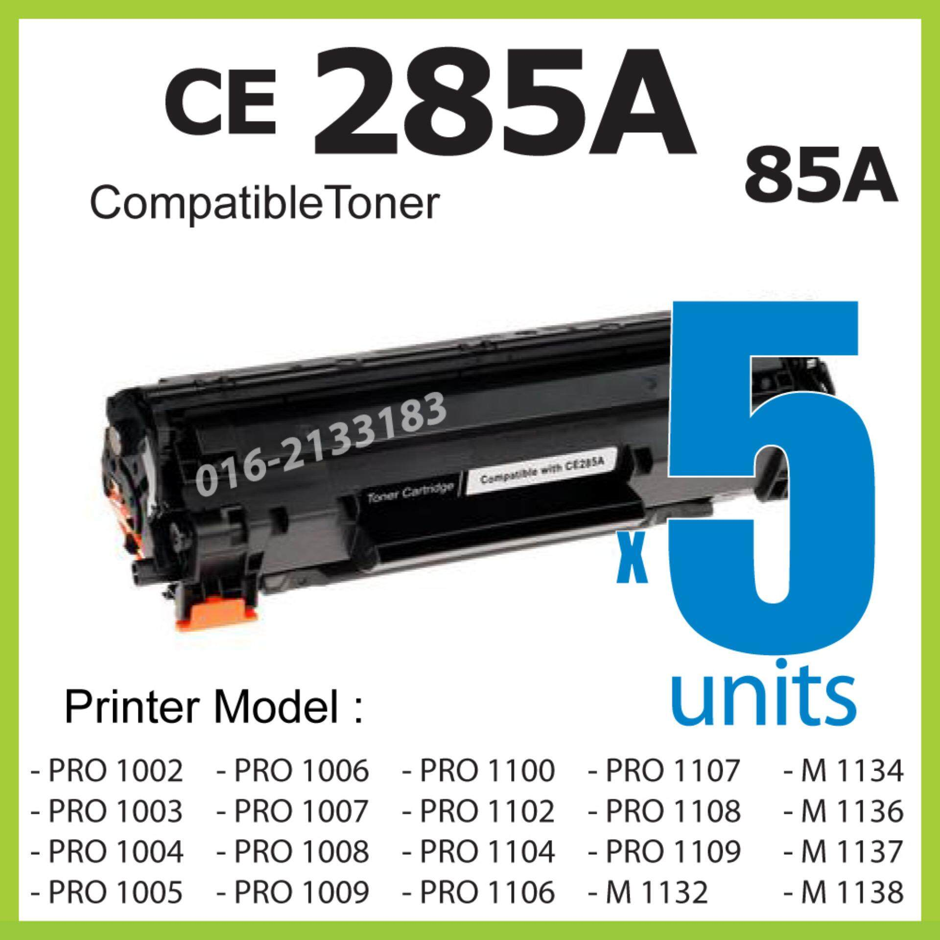 Laser Toner Online Printers Accessories Price In Malaysia Best Hp 85a Compatible Ce 285a 5 Units Cartridge Ce285a Ce285 Color Laserjet P1002 P1003