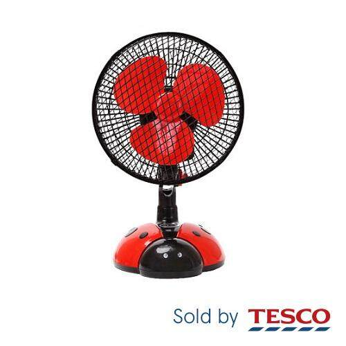 Mini Portable Flexible Fan Rd-271 (ladybird) By Tesco Groceries.