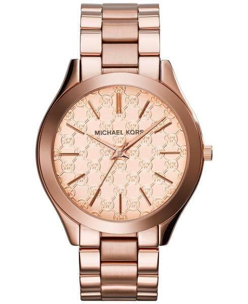 Michael Kors Womens Slim Runway Rose Gold-tone Watch MK3336 Malaysia
