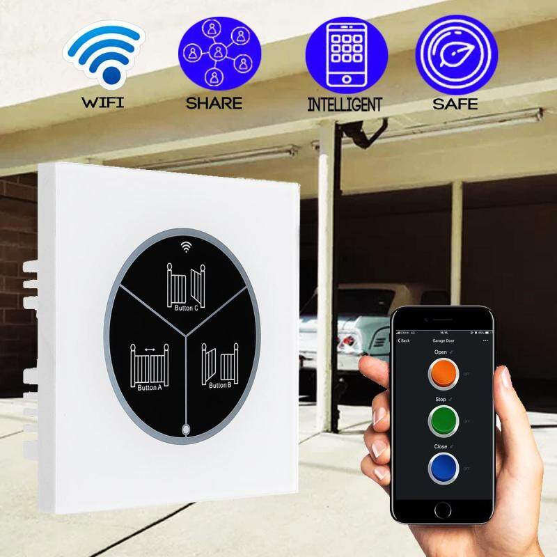 Wireless Garage Door Opener Remote WIFI Switch Universal Controlled By for Gate
