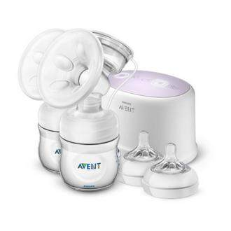Philips Avent Comfort Twin Electric Breast Pump Scf334 (scf334/31) By Philips Avent.