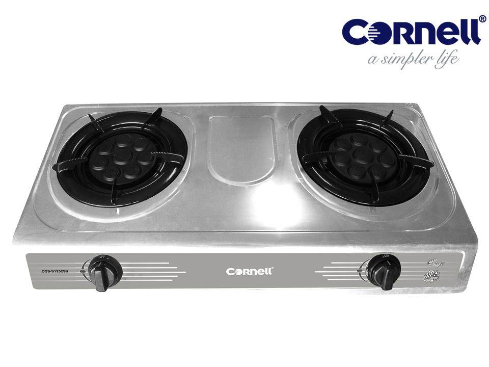 Cornell Cgs S1252ss Stainless Steel Panel Gas Stove