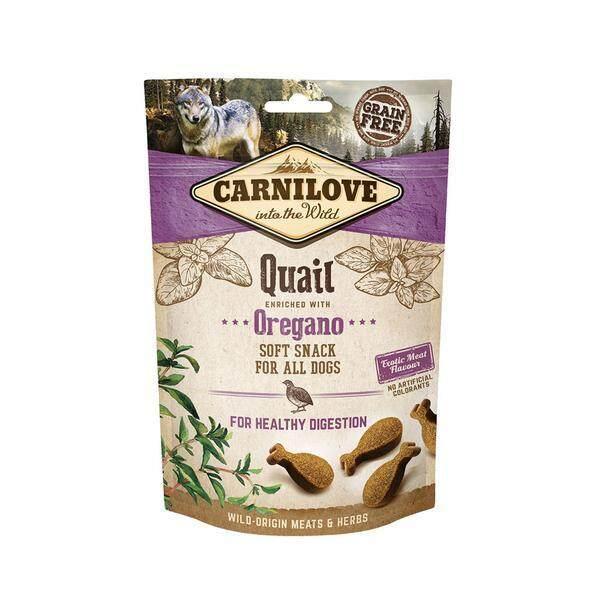 Carnilove Quail With Oregano Soft Snack 200g By Irene Aquarium & Pet Saloon.