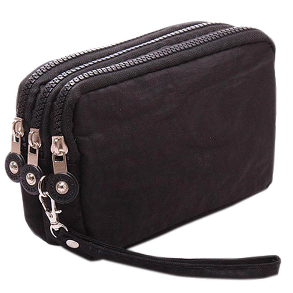 FC Lady Phone Wallet Package 3 Layers Handbag Cross Section Clutch Bag  Large Capacity Valentines Gift 6538a1ef1e98