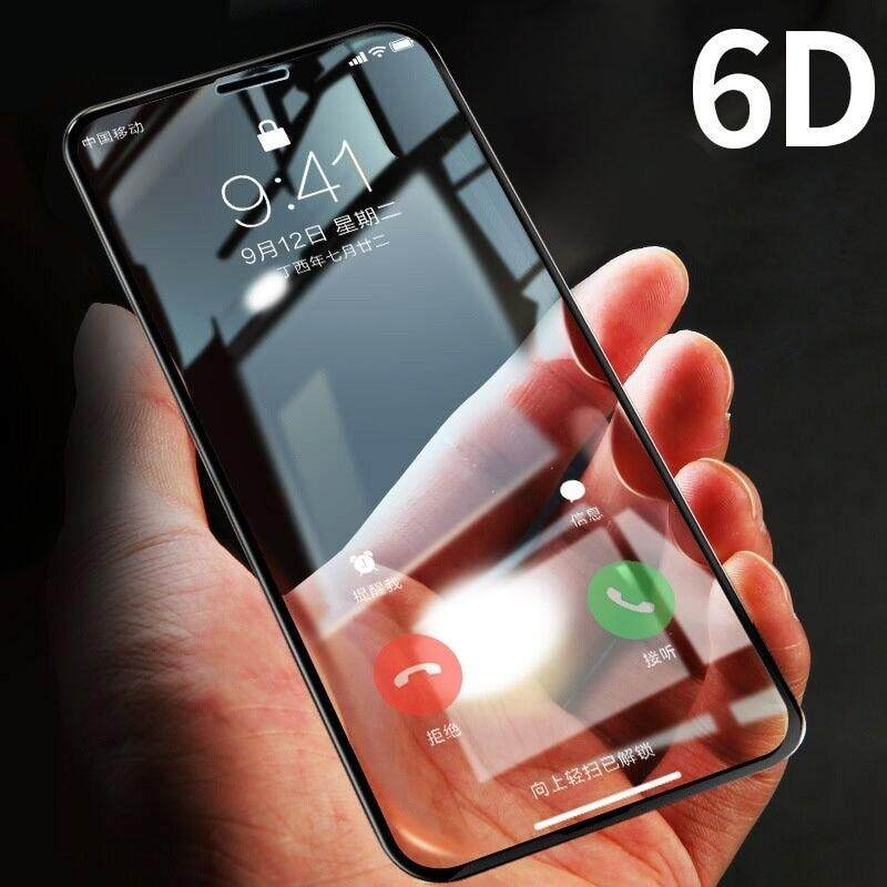 6D Full Screen Tempered Glass Apple Iphone 6 / 6S / 6 Plus / 6S Plus