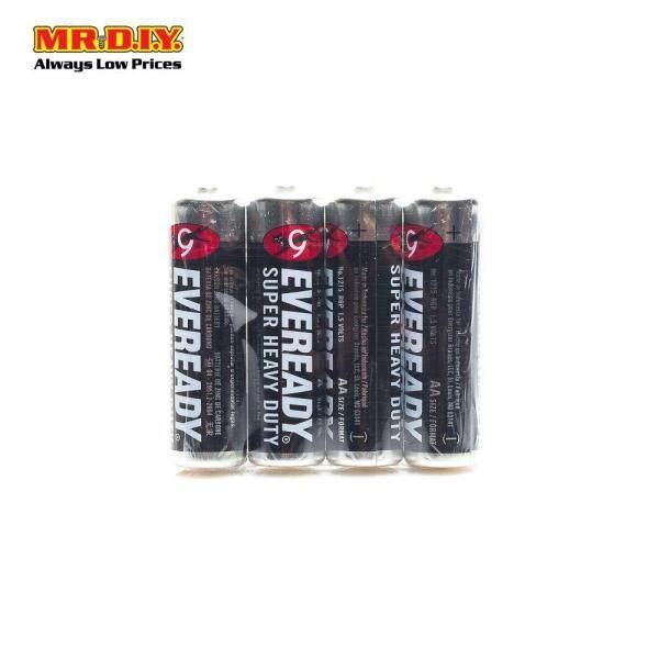 EVEREADY Super Heavy Duty Battery AA (4pcs)