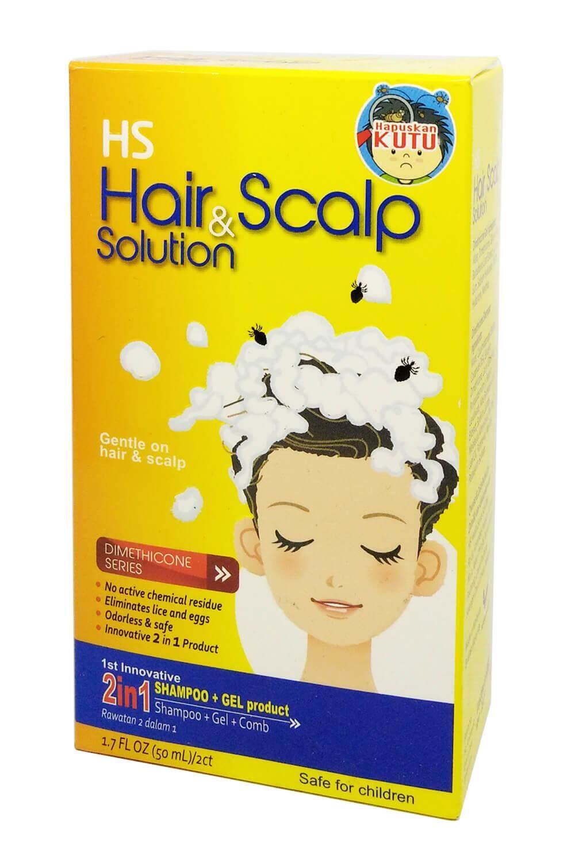 Hs Hair Scalp Solution Buy At Best Shampo Anti Kutu Sampo Lice 2 In 1 50ml