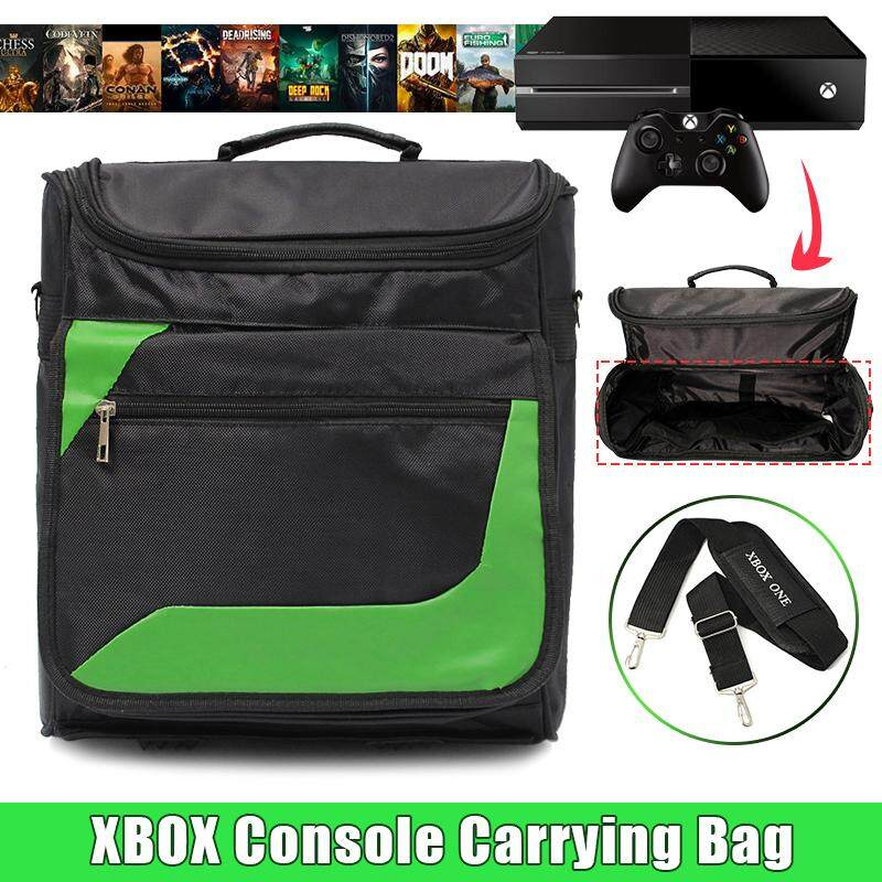 Travel Carry Protective Shoulder Bag Pack Case For Microsoft Xbox One Console Fz By Freebang.