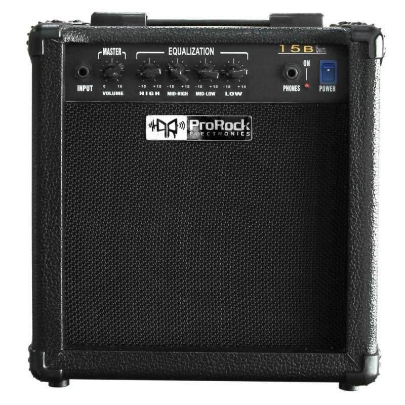 ProRock 15 Watt Bass Amplifier with 4EQ and one phones output Malaysia