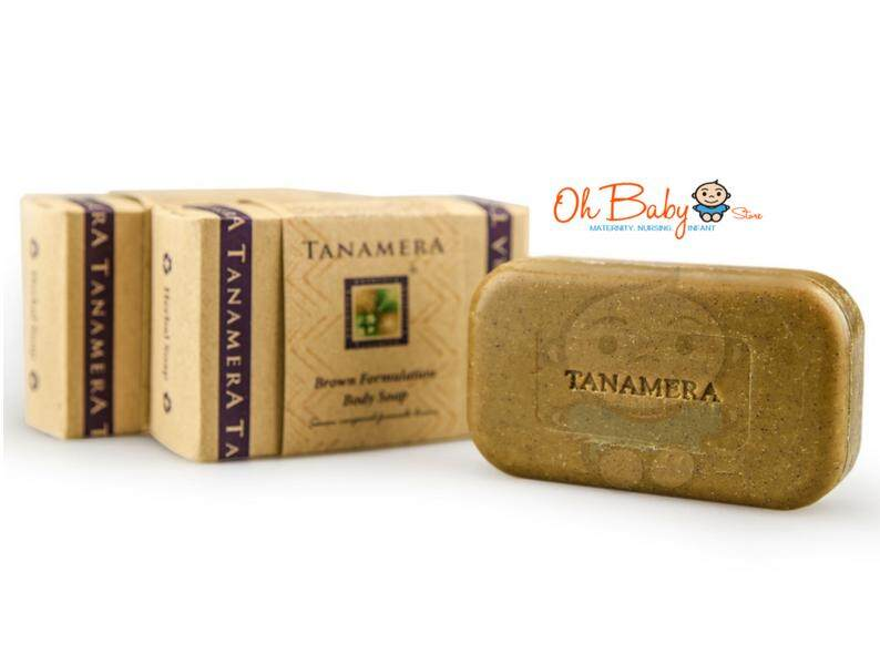 Tanamera Brown Formulation Body Soap 125gm By Oh Baby Store.