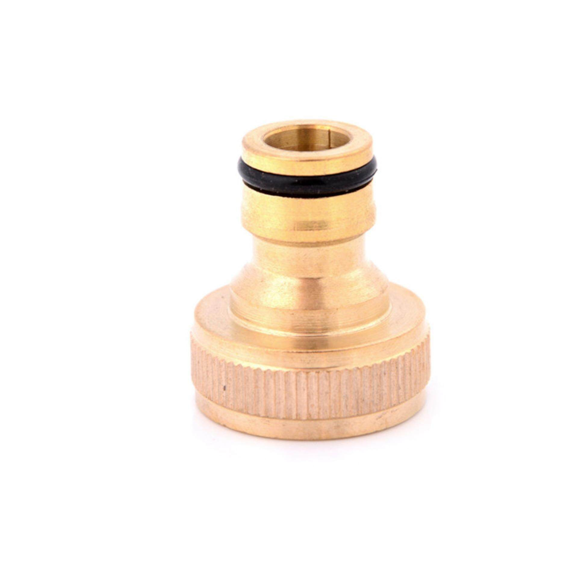 3/4 Brass Tap Adaptor Hose Pipe Fitting Tap Hosepipe Quick Connector