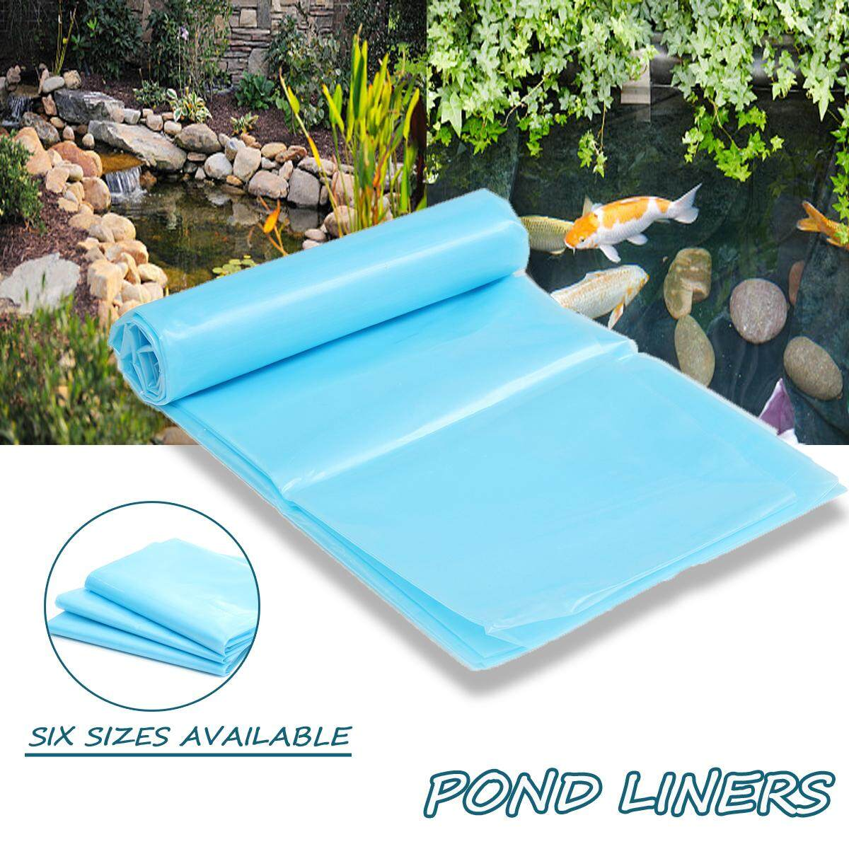 4X4M Fish Pond Liner Outdoor Gardens Pools HDPE Membrane Reinforced Landscaping