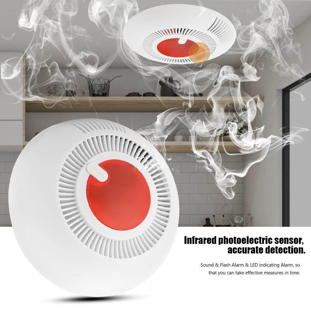 Wireless Smoke Alarm Detector Fire Protection Sensor for Home Security