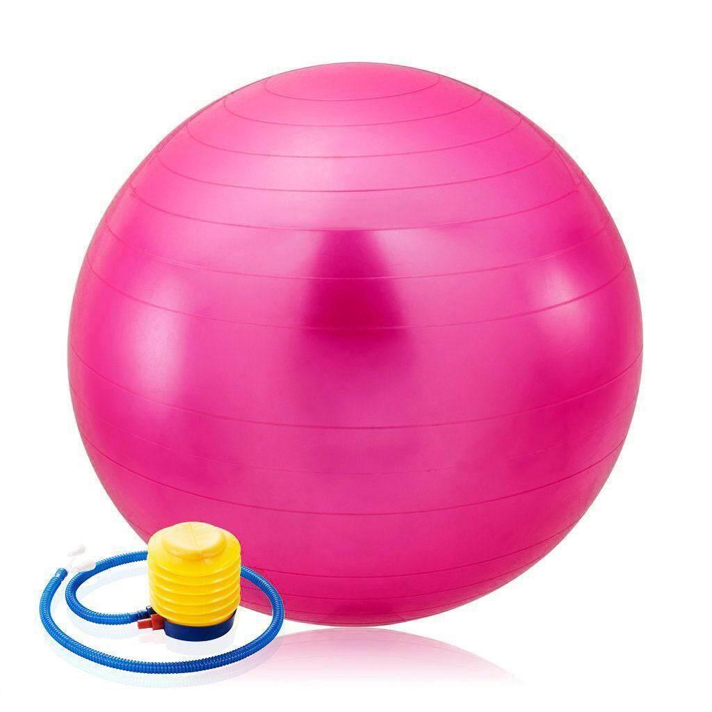Anabelle Gymball Bola Fitnes Yoga Size 65cm Pink Harga Gym Ball Size65cm Fitness Bonus Pompa Angin Fitball Senam Free Jim Source 75cm Exercise