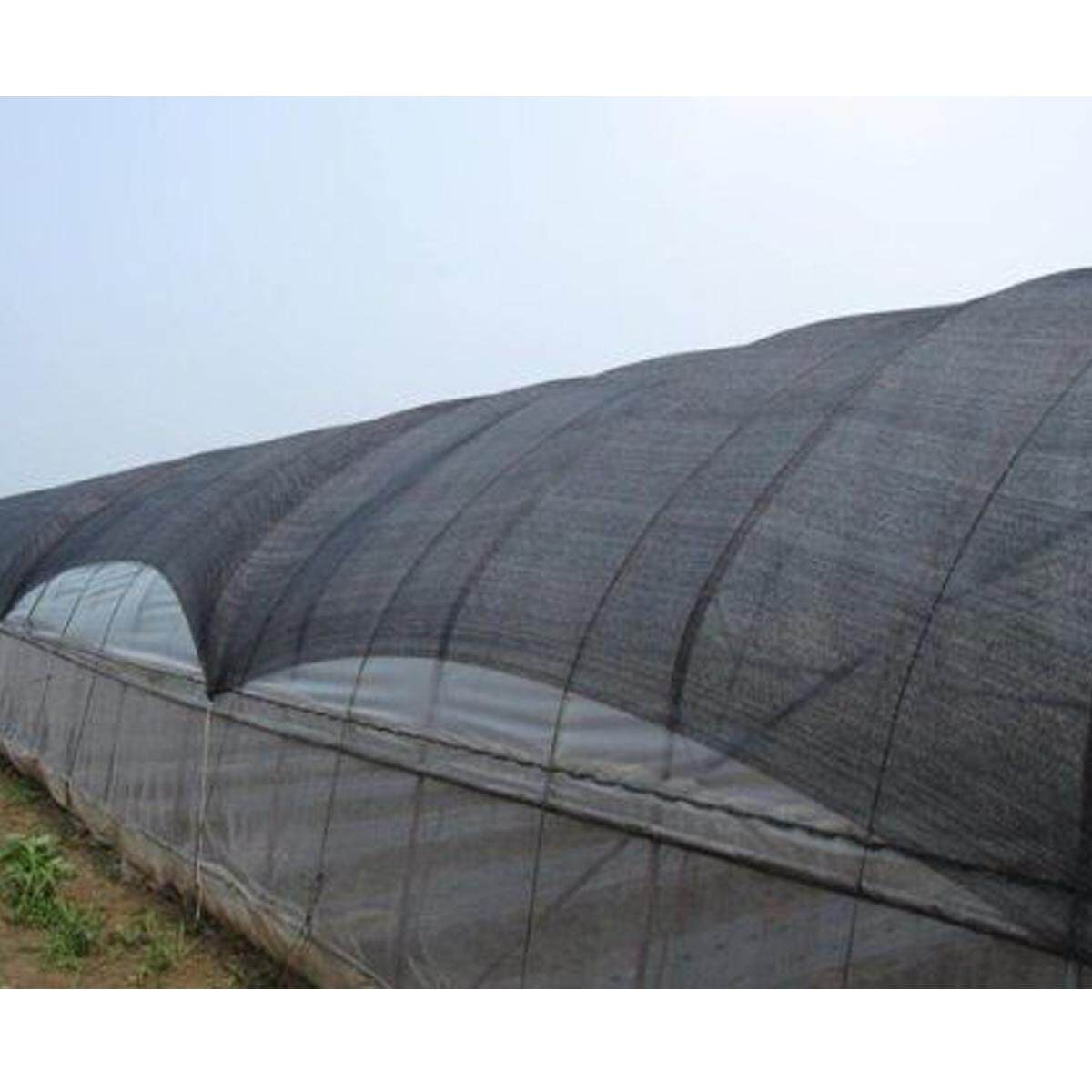30% Sunblock Shade Cloth for Plant Cover Greenhouse Barn 6/9/15m #2*15m