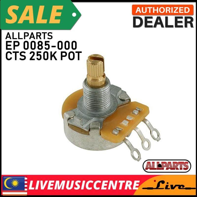 Allparts EP-0085-000 CTS 250K Split Shaft Audio Pot Malaysia