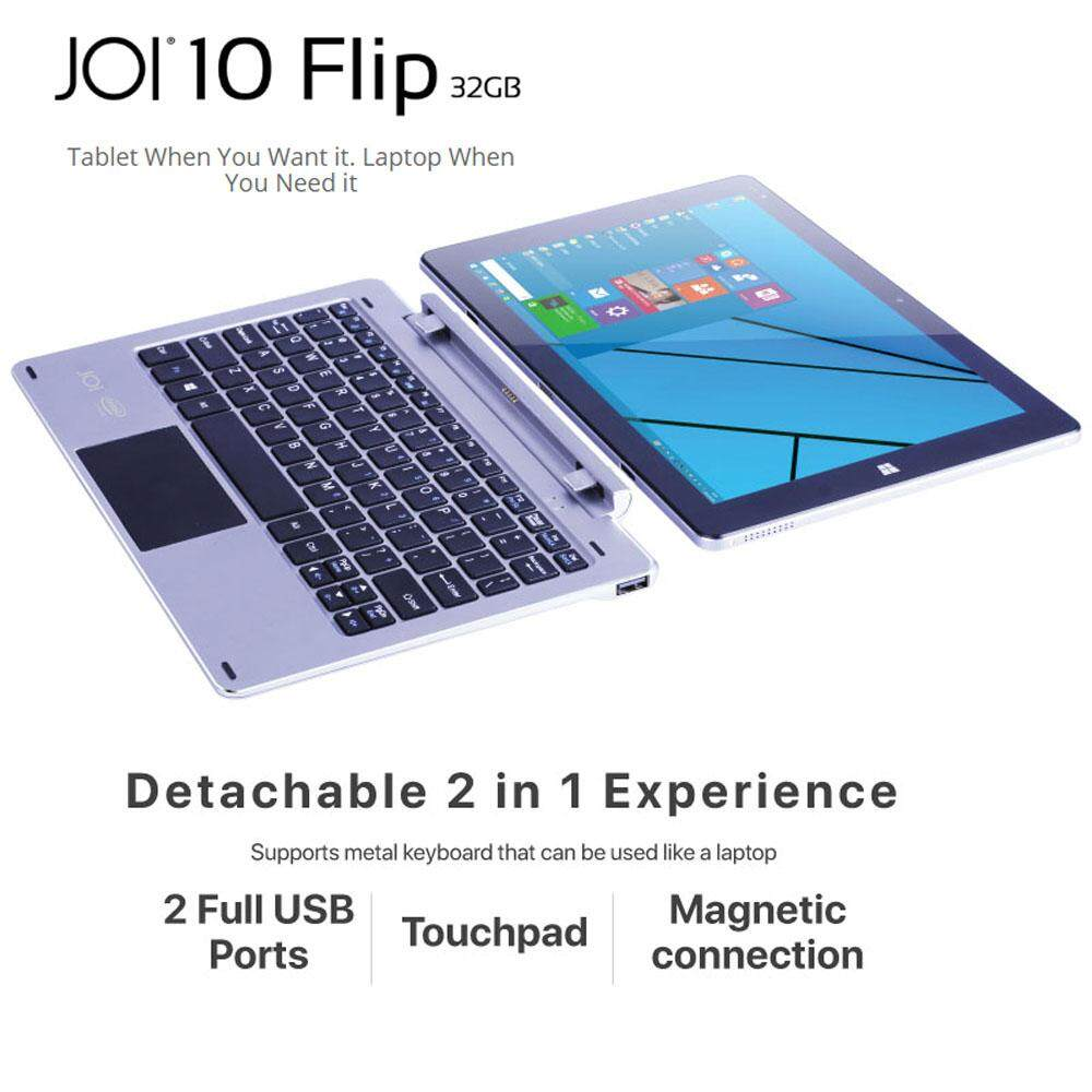 JOI 10 2in1 Laptop 32GB with Metal Keyboard Malaysia