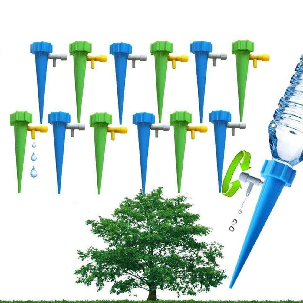 12PCS Home Automatic Plant Watering Tool Drip Irrigation System Gardening Accessories Decoration