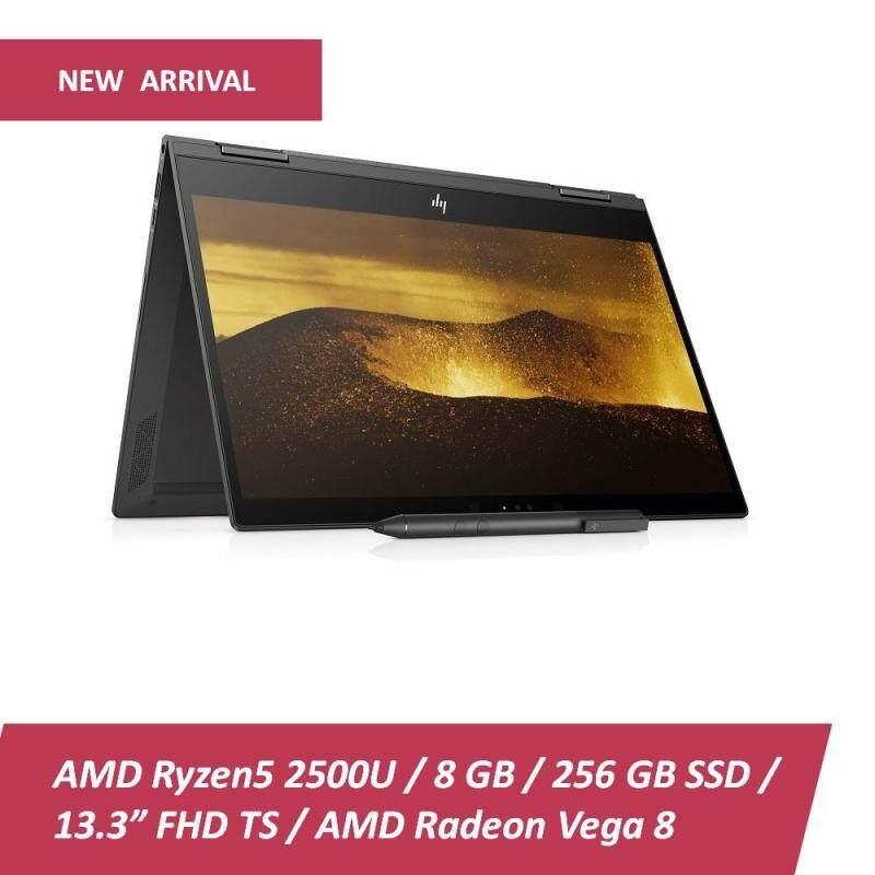 HP ENVY x360 13-AG0003AU - Dark Ash Silver (AMD Ryzen 5-2500U, 8GB RAM, 256GB SSD, 13.3 Touch, Win10) + Free HP Backpack Malaysia
