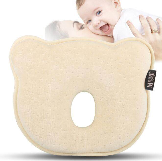Baby Pillow For Memory Foam Baby Pillow - And Head Positioner Neck Support Prevent Baby Flat Head (0-12 Months) By Oceano Pacifico.