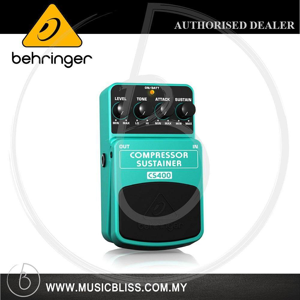Guitars Effects Pedals Buy At Best Electric Guitar Pre Amplifier With Noise Gate And Compression Circuit Behringer Cs 400 Compressor Sustainer Pedal Cs400