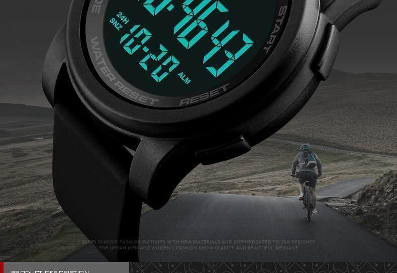 Specifications of SKMEI Brand Men s Watches LED Digital Watch Men Wrist  Watch Black Alarm 50m Waterproof 9d074b62e1