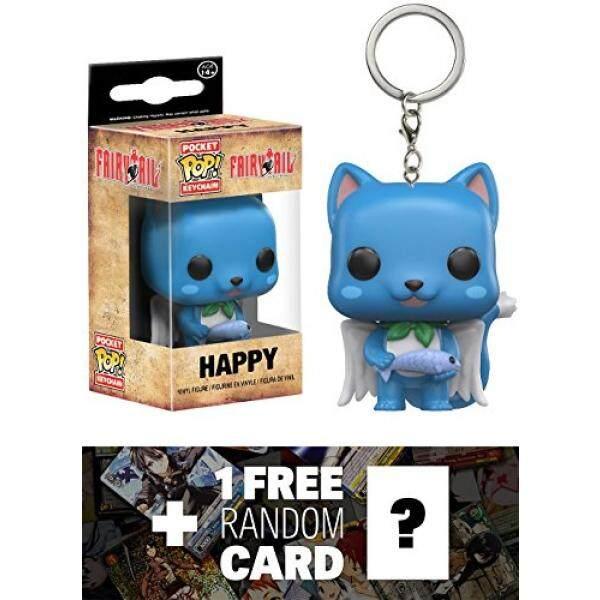 Happy Pocket POP X Fairy Tail Mini Figural Keychain 1 FREE Anime