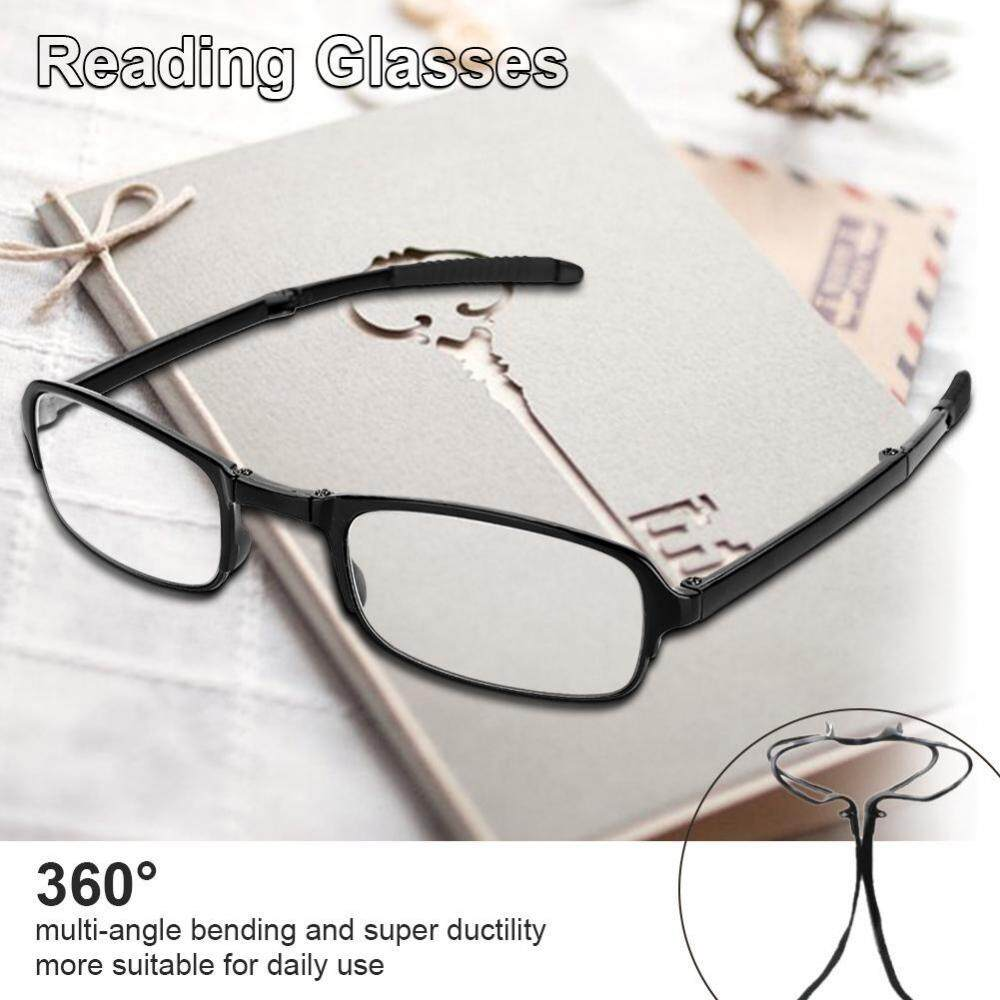 86c194aa671 Unisex Portable Lightweight Foldable Ultra Thin Black Reading Presbyopic  Glasses (1.0)