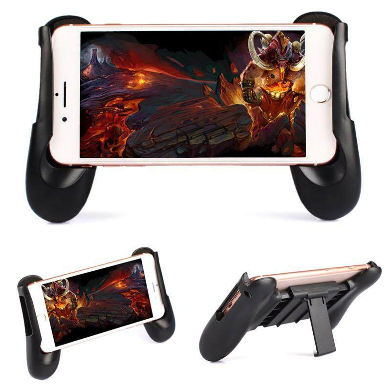 Mobile Phone Adjustable Gamepad With Stand Support Android & Ios By White Shadow.