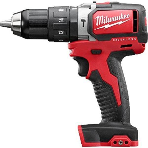Milwaukee 2702-20 M18 ½ Compact Brushless Hammer Drill/Driver Bare